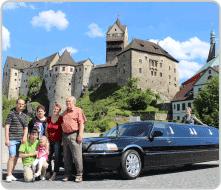 Zážitky a výlety v limuzíně